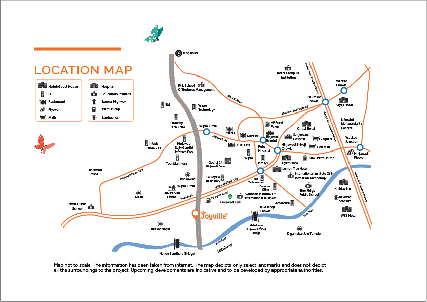 Location Map Shapoorji Sensorium