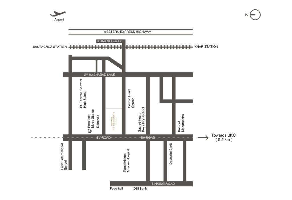 Shapoorji Pallonji the Designate location Map